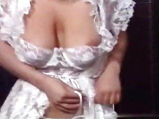 BE MY LOVER - vintage 80's big bouncy tits strip dance