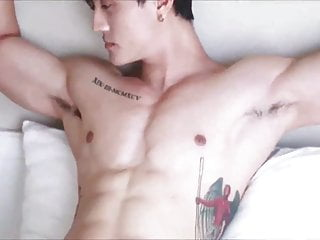 Thai model shootout with nipple play...