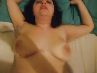 Slut with saggy tits is fucked...