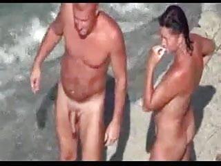 Three beach...