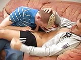 twinks on the sofa