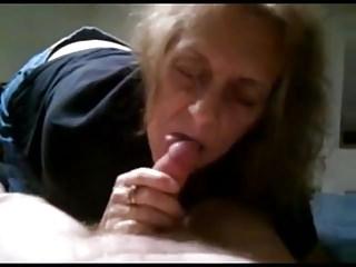 Granny cindy loves sperm...