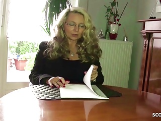 rough anal sex for german mature teacher at privat tutoringPorn Videos