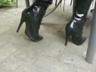 my new High Heel Boots from Pleaser