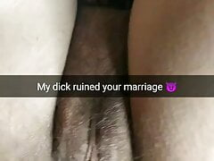 My small fat dick ruin your wife pussy and  your marriage