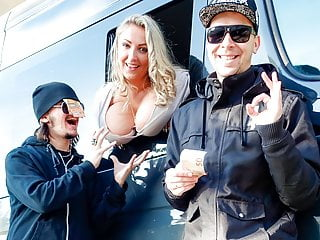bums bus - czech pawg enjoys hardcore fuck in the backseatPorn Videos