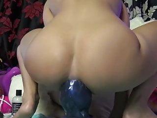 amateur big dildo