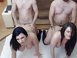 group playfulwoman