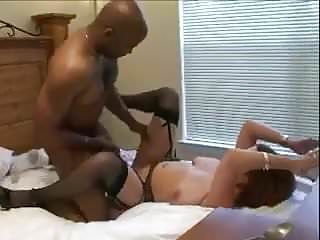 Sexy milf interracial cuckold