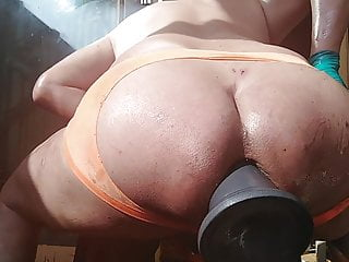 Massive dick best ever riding gay pussy...