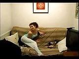 Hottie stripping on webcam  Sativa Verte