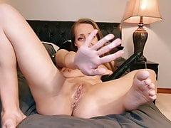 Creamiest grool pussy cumming all over dildo - Trishbunny