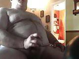 DADDY BIG BELLY JERK HARD