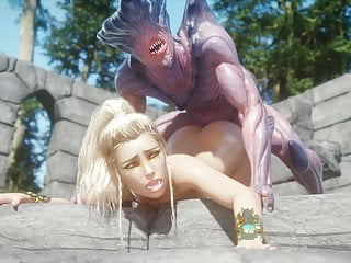 Monster fuck blonde