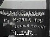 School Girls get a Hardcore Group Sex Lesson (1950s Vintage)