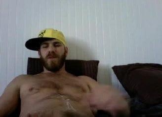 Fat mature sucking cock