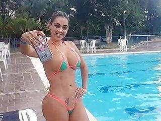 Teen Latina video: Elena Bayona Colombia 02