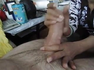 Asian Indo Massage MILF give handjob