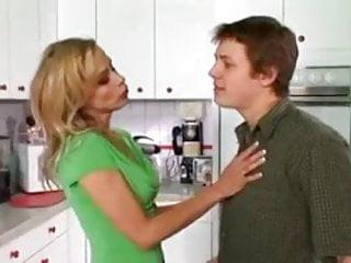 Fucking his girlfriend's hot mom