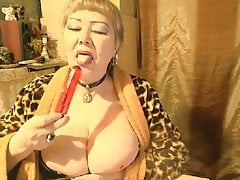 Beautiful Russian Granny Lelaniy - part 6