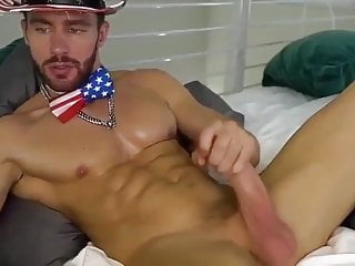 Perfect man, handsome, sexy and with a huge cock