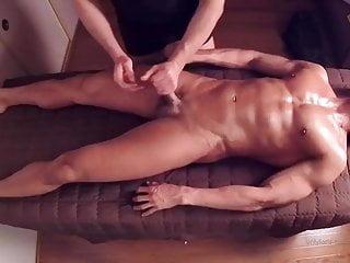 Hj on on massage table no cum 1...