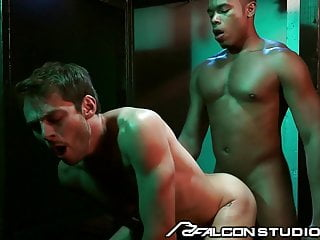 FalconStudios – Reserved Businessman Visits Glory Hole Booth