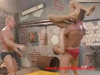 Orgy humiliation wrestling...
