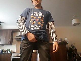 Clothes off and cum!