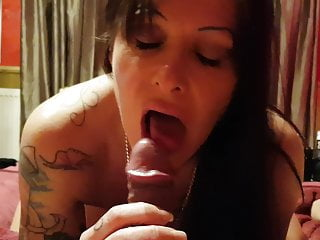 Exclusiv my my Julia balls sucks licks dick and