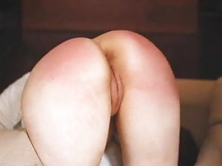 Big ass spanking and licking