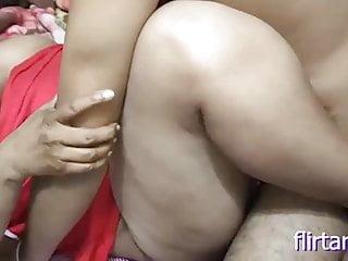 Desi lovers having sex in room, chubby girl