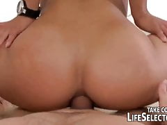 Perfect ass anal ride