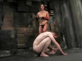 Femdom Mistress Punishes and Humiliates Sub Male Slave #004