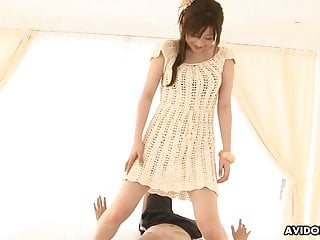 Japanese teen remi shirosaki got nailed uncensored...