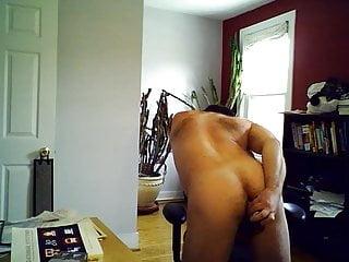 Keenan strips and cums...