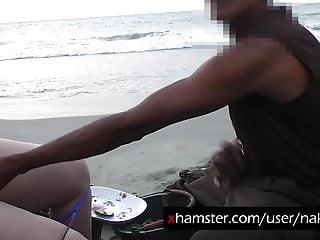 Jerking off guy oyster serller...