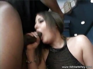 Awesome white wifey...