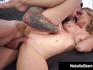 Blonde Babe Natalia Starr Gets Cock Fucked With ButtPlug!