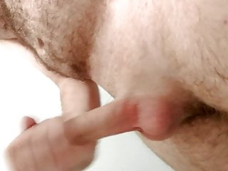old hairy man masturbating.