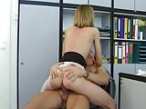 Pantyhose office fun