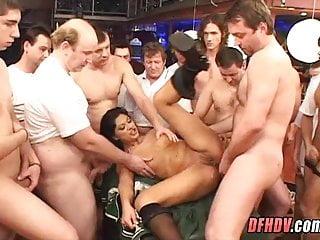 Hot Creampie Gang Bang - Pussy creampie gangbang, porn - videos.aPornStories.com