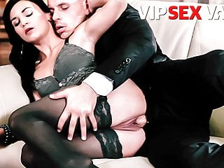 VIP SEX VAULT Classy Wife Rosaline Rosa Teases Lover Into Sex