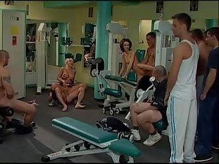 gym Bukkakke Pornoluver's Orgy nasty