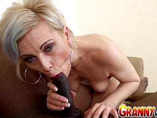 Granny Vs BBC - Kathy White Makes Her Black Bull Cum Inside