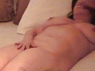 Chubby Deb fucked hard facial