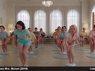 Rachel Brosnahan nude and sexy movie scenes
