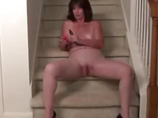 Hot masturbating...