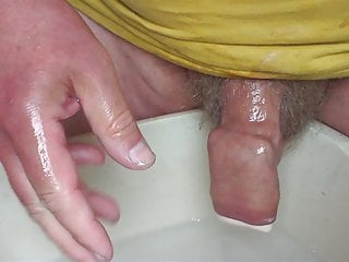 Soap bar in foreskin