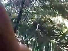 Sri Lankan Young Couple Jungle fuck